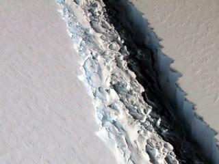 Iceberg Size of Delaware Poised to Break Off From Antarctica