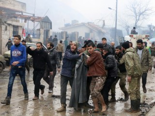 Blast in Syrian Town on Turkish Border Kills Nearly 50