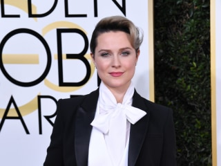 Golden Globes: Why Evan Rachel Wood Sported a Tux to the Show
