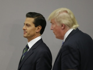 Trump, Mexican President Peña Nieto Agree to End Public Tiff About Border Wall, Mexico Says