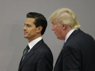 Trump, Mexican President Peña Nieto Agree to End Public Tiff About Border Wall, Mexico Says