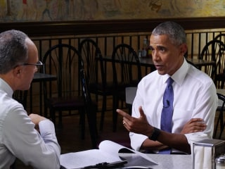 Lester Holt Interviews President Obama in One-Hour Special