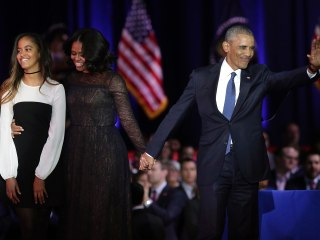 'Yes We Can': Obama Encourages Nation in Emotional Farewell