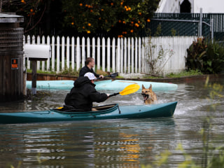 Back-to-Back Storms Flood Northern California