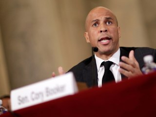 Cory Booker slams Trump's 'all-out assault' on LGBTQ Americans