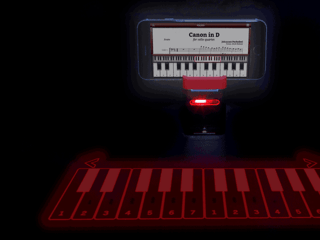 The iKeybo Is a Laser Projection Keyboard That Fits in Your Pocket