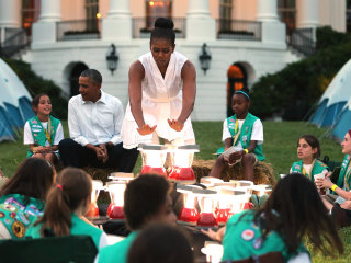 Girl Scouts Defend Their Involvement in Donald Trump Inauguration