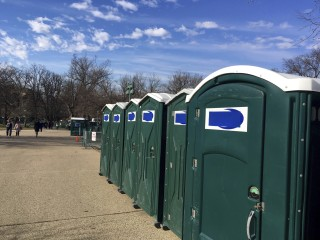 Why the Name 'Don' Is Being Covered on Trump Inauguration-bound Potties