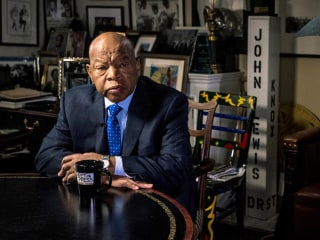 Rep. John Lewis: 'I Don't See Trump as a Legitimate President'
