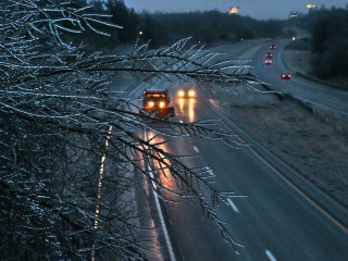 Massive Midwest Ice Storm Leaves Thousands Without Power
