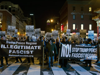 D.C Braced for 900,000 Protesters During Trump's Inauguration Week