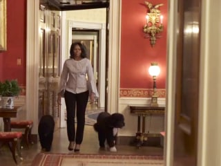 First lady Michelle Obama shares video of 'one last walk' through White House