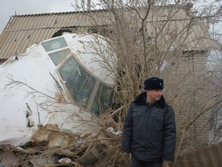 Cargo Jet Crash Kills Dozens in Kyrgyzstan Village