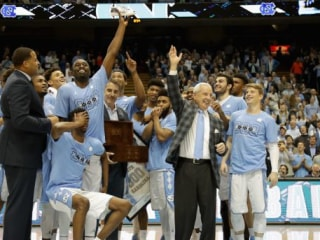 UNC's Roy Williams Gets Customized Shoes from Michael Jordan