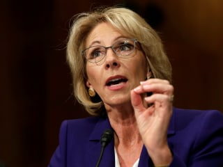 Betsy DeVos, Trump's Pick for Education Secretary, Won't Rule Out Defunding Public Schools