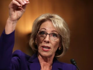 Betsy DeVos: Schools Might Need Guns Due to 'Potential Grizzlies'