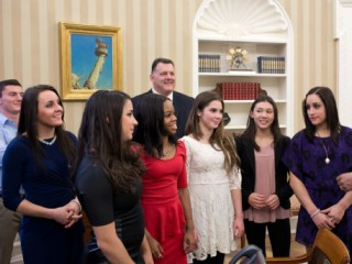 Obama Assigns Gabby Douglas to Post Before Leaving Office