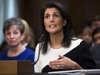 South Carolina Gov. Nikki Haley Confirmed as UN Ambassador