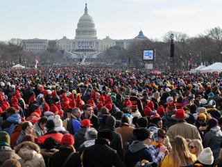How Huge Will It Be? How Inauguration Crowd Sizes Are Estimated