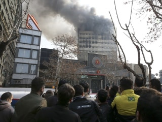 Tehran's Iconic Plasco Building Collapses After Fire: Iran State Media