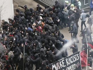 Feds drop charges against two-thirds of Trump inauguration protest defendants