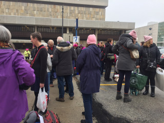 Women's March Draws Supporters From America's Heartland