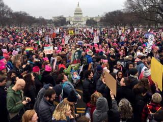 Women's March Draws Supporters From American Heartland