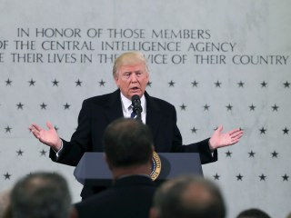 Trump Works to Smooth Over Tensions With CIA Visit: 'I Am So Behind You'