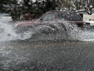 Rains Pound Drought Ravaged Southern California, Parts of Arizona
