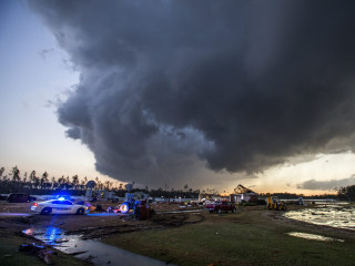 Florida Braces for Storms After 19 Die in Georgia, Mississippi Severe Weather