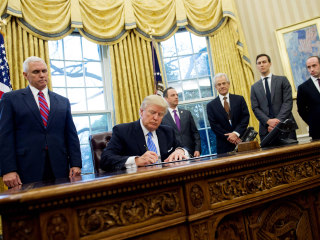 Trump Issues Executive Orders Freezing Federal Hiring, Targeting Trade