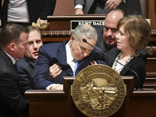 Minnesota Gov. Mark Dayton Collapses During State of the State Address