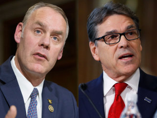 Senate Committee Indefinitely Delays Votes on Rick Perry, Ryan Zinke