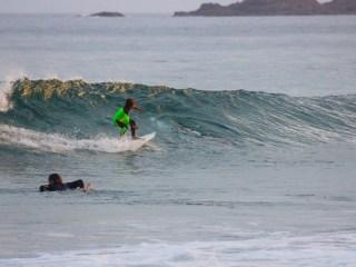 Shark Photobombs 10-Year-Old Aussie Surfer