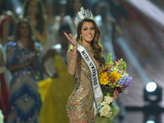 Miss Universe Title Goes to France (and Yes, Steve Harvey Got It Right This Year)