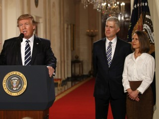 Trump Nominates Federal Appeals Court Judge Neil Gorsuch to Supreme Court