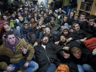 Defiant Settlers Resist Eviction From West Bank Outpost