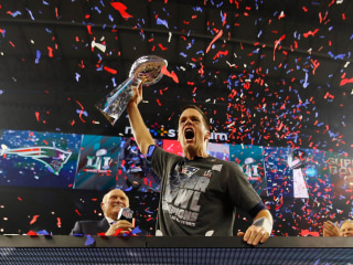 Sudden Death Stunner: Patriots' Super Bowl Comeback in Pictures
