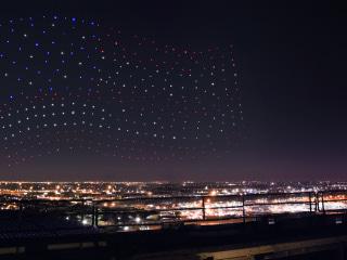 The Secret Behind Those Super Bowl Half-Time Show Drones
