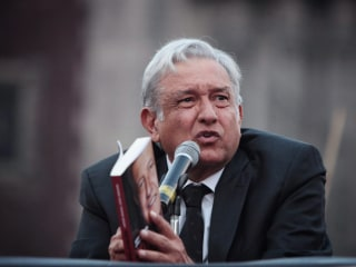 Trump Could Give Momentum to Mexico's Leftist Presidential Candidate