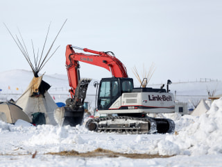Dakota Access Pipeline Company Says Project Can Now Be Finished