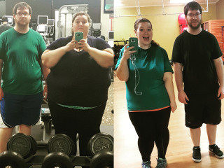 This Couple Lost 298 Pounds in a Year by Following These 3 Steps