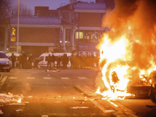 Paris Protest Turns Violent Over 'Theo' Police Rape Allegation