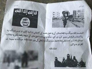 Execution Leaflets Bring New ISIS Terrorism Fear to Pakistan