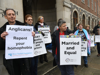 Church of England Stance on Gay Marriage in Disarray After Vote