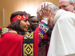 Pope Francis Says Native People Have Rights Over Their Lands