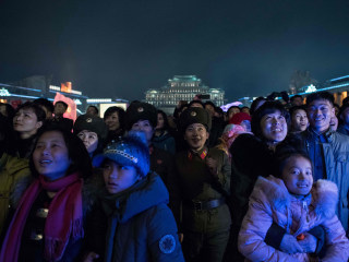North Koreans Celebrate Birthday of Kim Jong Il Just Days After Son's Death