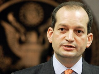 Trump Announces Alexander Acosta as New Labor Secretary Pick