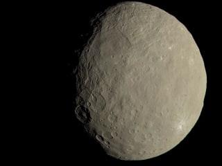 This Dwarf Planet Has Life's Building Blocks, NASA Probe Shows