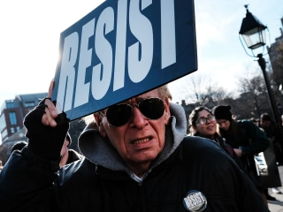 'Not My President's Day': Thousands Protest at Anti-Trump Rallies Across U.S.